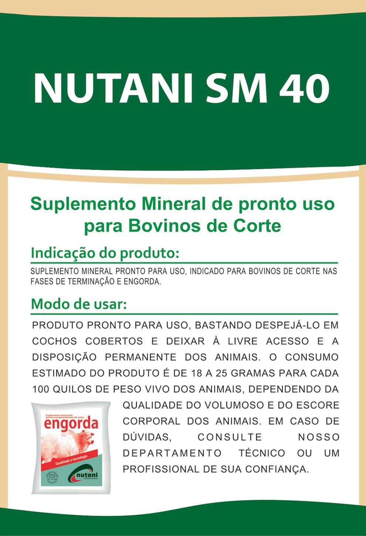 Nutani SM 40 - Nutani