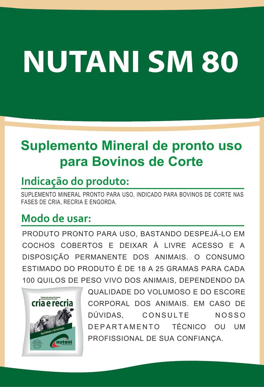 Nutani SM 80 - Nutani