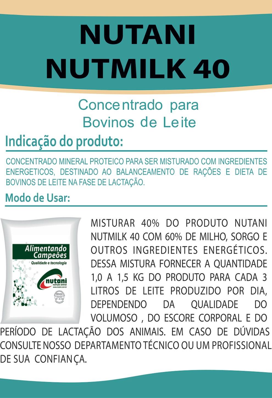 Nutani Nutmilk 40 - Nutani