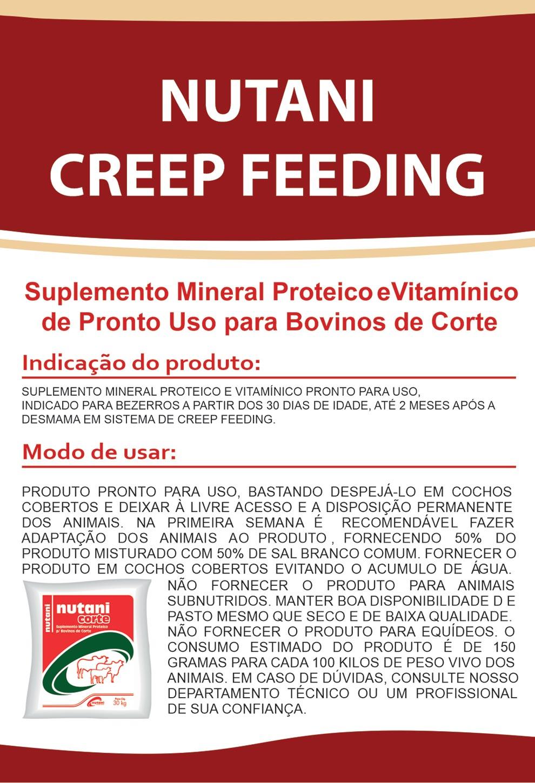 Nutani Creep Feeding - Nutani