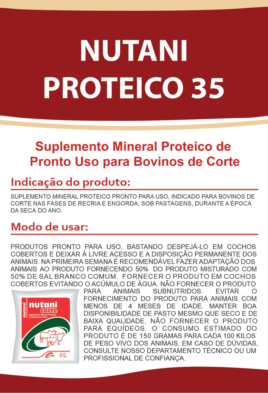 Nutani Proteíco 35 - Nutani